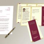 Flyergestaltung und Geschäftsausstattung