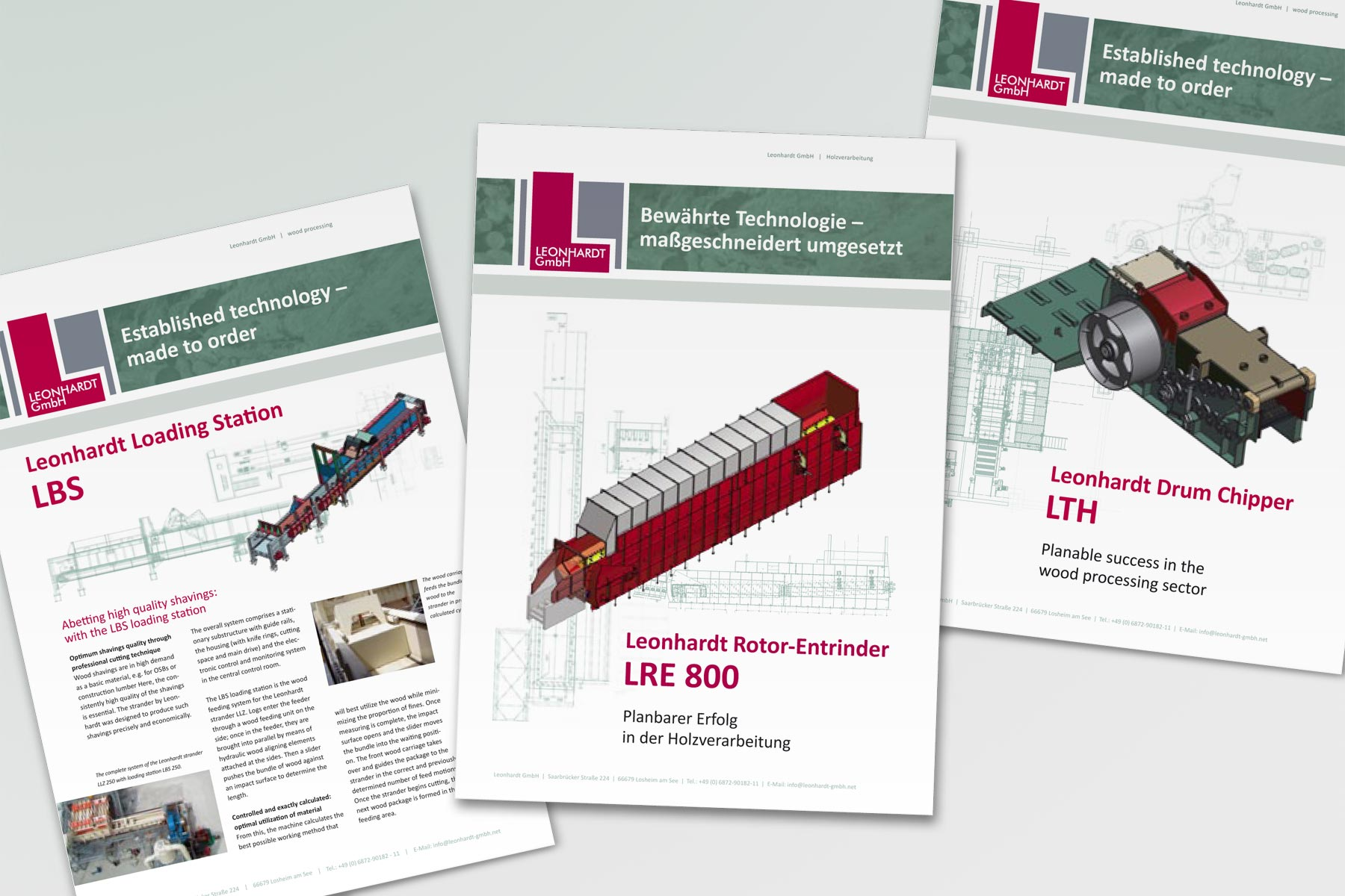 Div. Broschüren – Maschinenbau