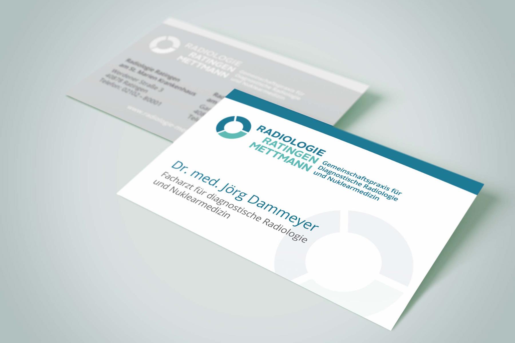 Visitenkarten – Radiologie-Praxis