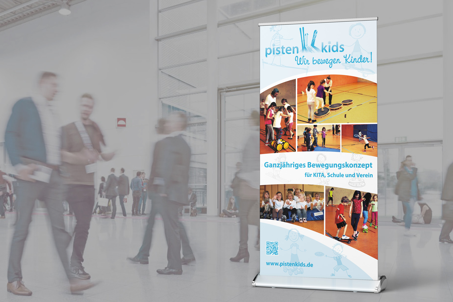 Roll-Up-Banner – Sportangebot